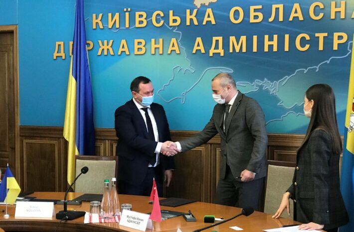 Київська ОДА та турецька компанія «Özaltın Holding» спільно працюватимуть над будівництвом нової дороги в Бучанському районі