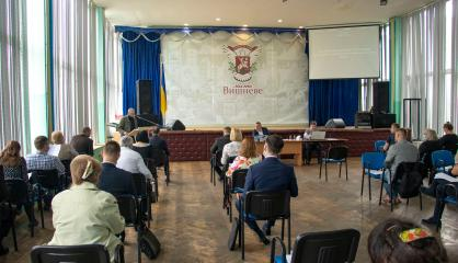 Відбулася чергова VІ сесія Вишневої міської ради VІІІ скликання